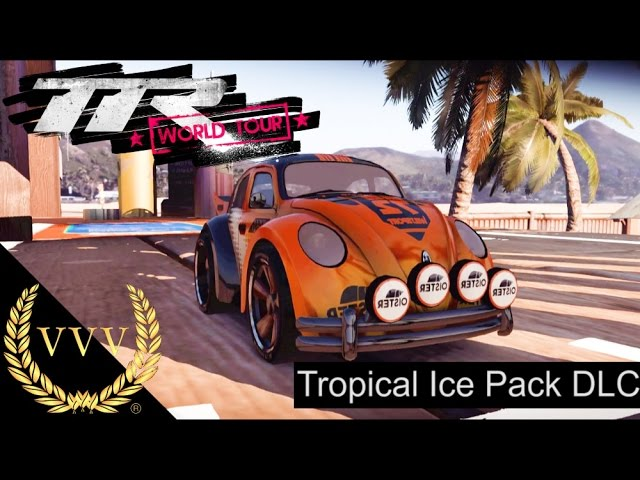 Table Top Racing World Tour Tropical Ice DLC