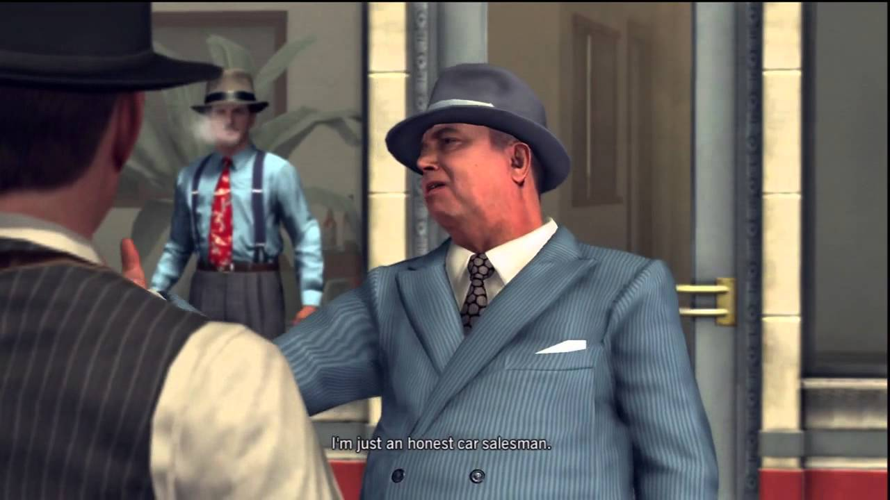Let S Play L A Noire 10 Used Car Salesman Youtube
