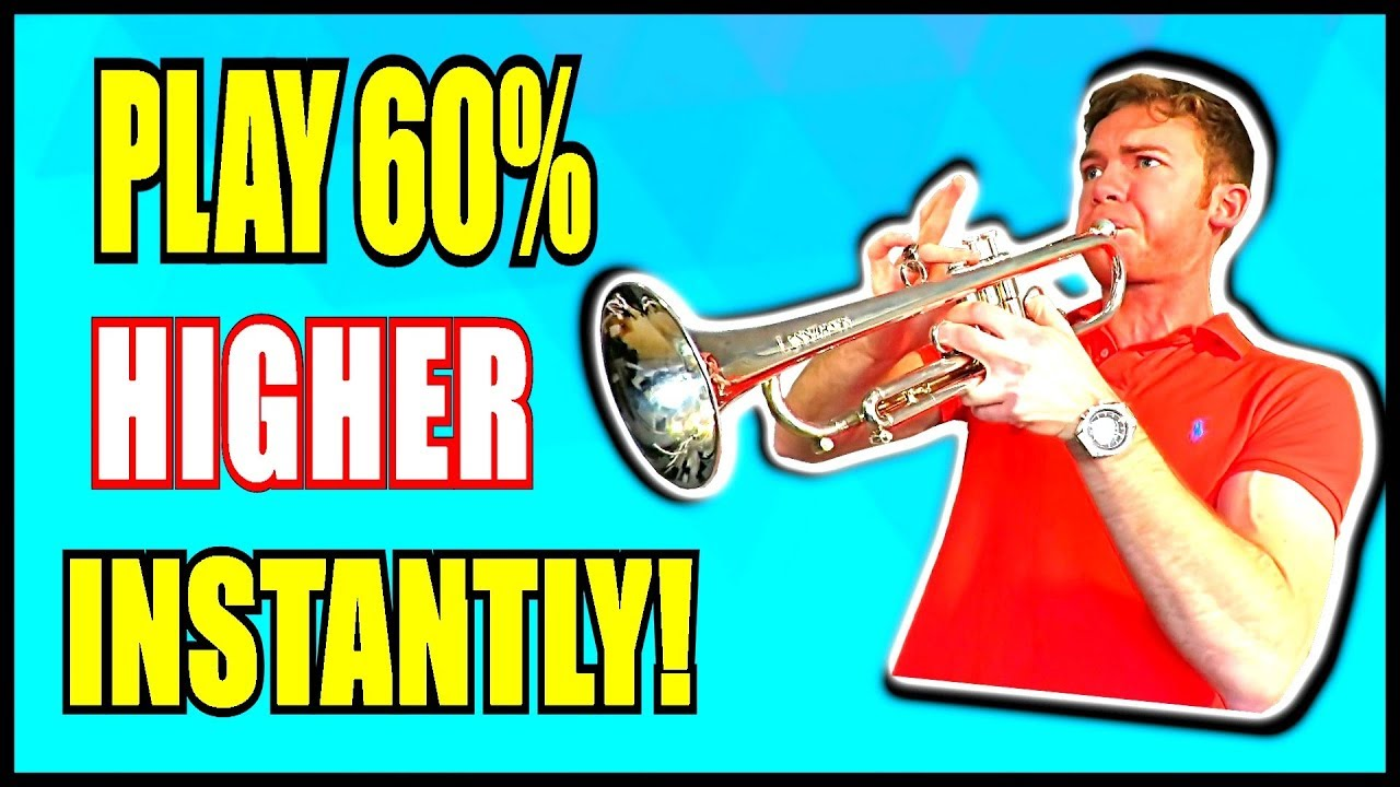how to play higher on trumpet