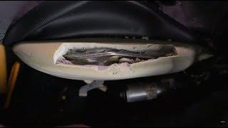 Renowacja zniszczonej gąbki w fotelu samochodowym #101_Napraw