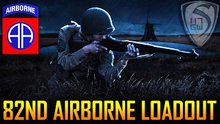 82ND AIRBORNE PARATROOPER WORLD WAR 2 LOADOUT G&G M1 GARAND