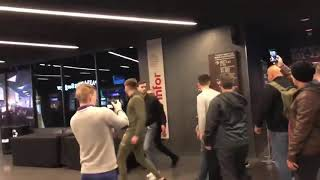 CONOR MCGREGOR GOES ON CRAZY RAMPAGE ATTACKING THE UFC BUS!!!