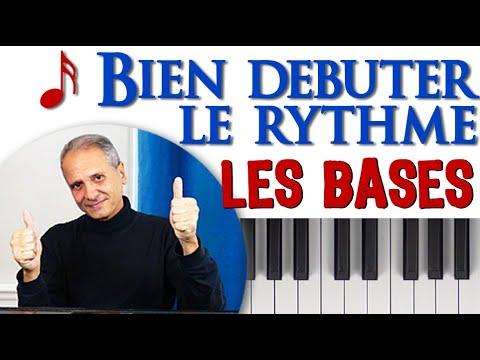Comment maîtriser les bases du solfège rythmique débutant  pour Lire et jouer tous les rythmes.