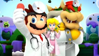Dr. Mario World - Walkthrough Part 1 - World 1