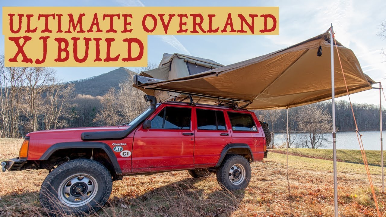 The Ultimate Overland Jeep Cherokee XJ Build - Walkaround of features