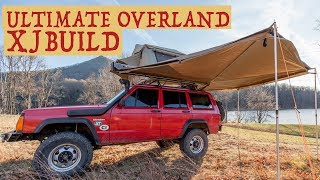 The Ultimate Overland Jeep Cherokee XJ Build - Walkaround of f…