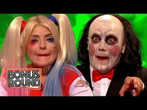 BEST of Celebrity Juice HALLOWEEN SPECIAL Gino D'acampo & Holly Willoughby