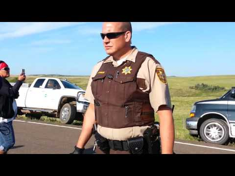 #NoDAPL vid 1 Fort Yates North Dakota 8/12/2016