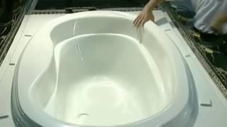 Как делают акриловые ванны HD