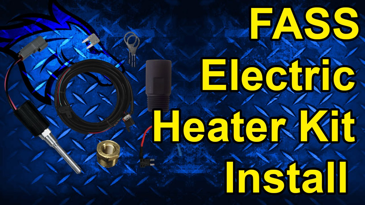 fass electric fuel heater kit install perfect for cold weather [ 1280 x 720 Pixel ]