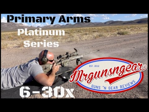 Primary Arms 6-30x56 FFP Platinum Series Scope With DEKA Reticle Review (HD)