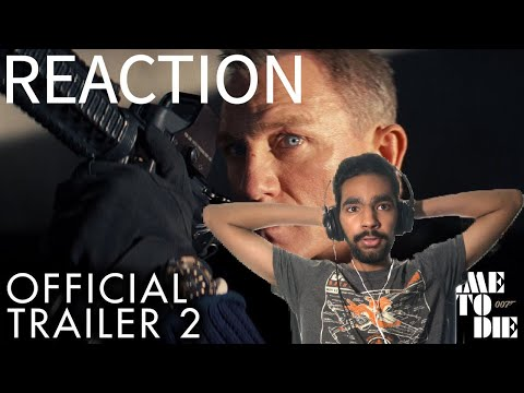 James Bond: No Time To Die | Trailer 2 Reaction