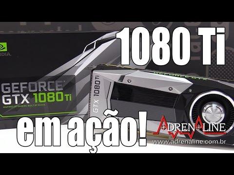 NVIDIA GeForce GTX 1080 Ti: veja desempenho da placa e do Ziebert em games!
