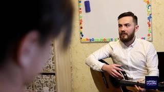 Урок игры на гитаре часть два! Классическая гитара и её звучание!