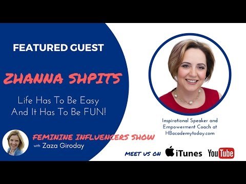 Zhanna Shpits and Zaza Giroday Episode 11 Feminine Influencers Show