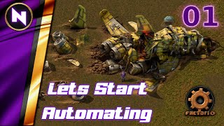 Factorio 1.0 #01 LËTS START AUTOMATING   New Player Experience