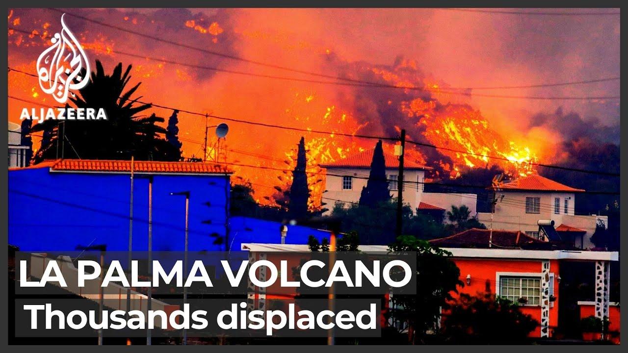 Download La Palma volcano destroys hundreds of homes, displaces thousands
