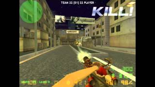 [Counter Strike Xtreme V6] Zombie Scenario Mode Gameplay (HD)