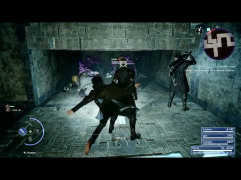 Final Fantasy XV - Sword of the Tall (Costlemark Tower Dungeon) - Royal Arm #9