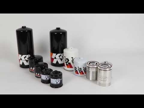 Premium Performance High-Flow Oil Filters | K&N