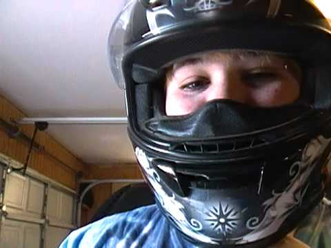 85c83b1709 How to put on a helmet with glasses (for Jon Paula) - YouTube