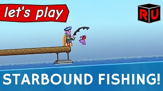 Starbound 1.1: Catching & collecting fish using new fishing rods!
