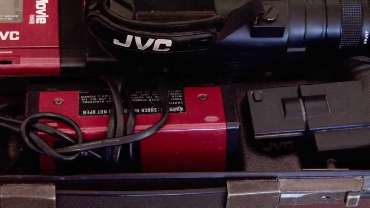 A Look Back At My Old Jvc Camcorder  Jvc Videomovie  Vhs  C  Gr-c1e