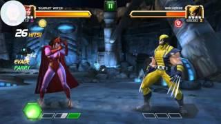 MCOC ROL Scarlett Witch vs Wolverine