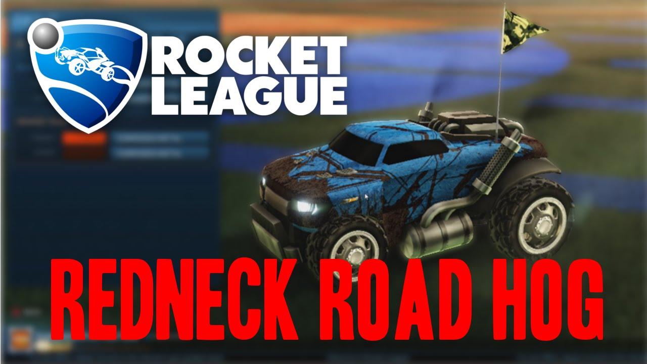 Rocket league custom cars redneck road hog