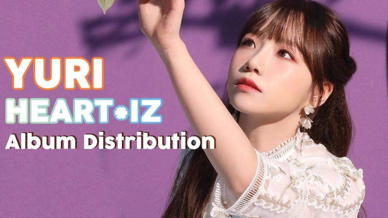 Yuri (IZ*ONE) - Heart*IZ || Album Distribution