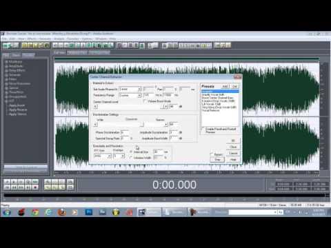 Como Sacar Acapella Y Instrumental Con Adobe Audition 1 5    Dj Flaco