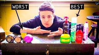 Mens Hairstyling into 2017 | BEST and WORST Hair Products