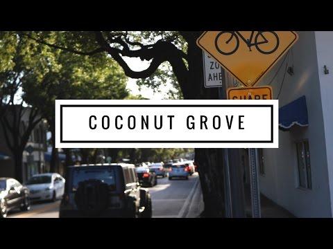 COCONUT GROVE - BAIRRO CHARMOSO EM MIAMI: compras e gastronomia