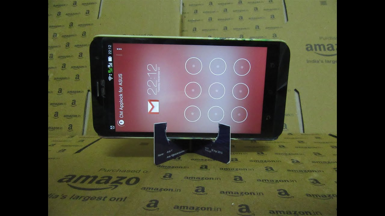 How To Make A Mobile Phone Stand With Gift Cards Debit