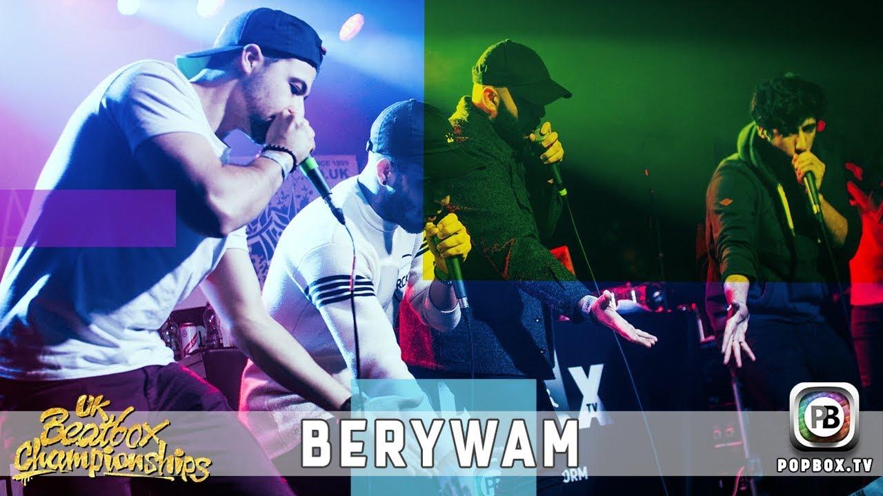 Berywam - Hiphop/Electro Medley   Live at 2017 UK Beatbox Championships