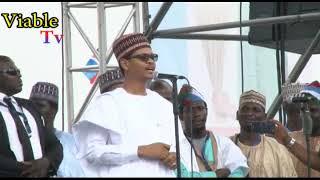 Standoff : Buhari Watches As Comedian MC Tagwaye Wears Character