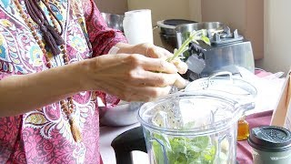 How to make Detox Pesto with Dr. Jodie A. Dashore