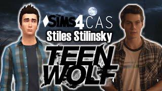 سيمز 4 إنشاء-A-Sim: ستايلز ستلنسكى (ديلان أوبراين) من الذئب المراهق