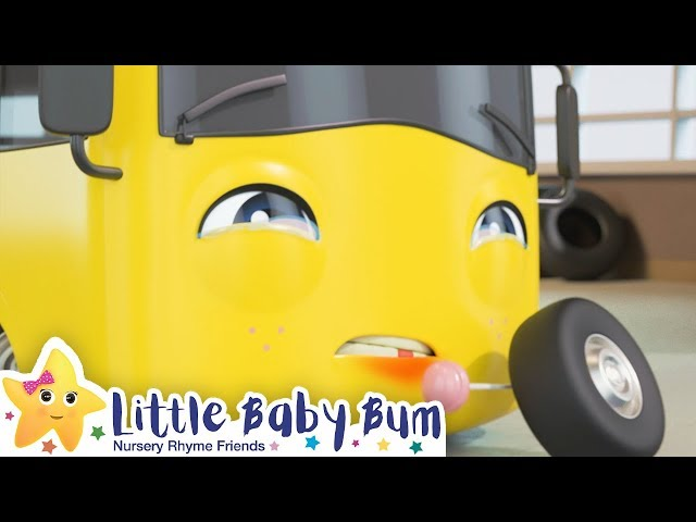 Buster's Wobbly Tooth Song | Go Buster | Nursery Rhymes | ABCs and 123s | Little Baby Bum