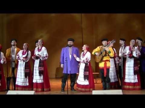 Концерт  Волжского народного хора (Храм Христа Спасителя, 25.10.2015)