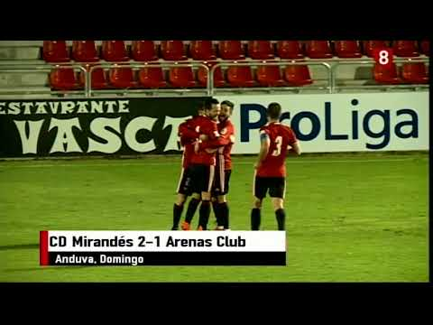 J.18 17-18 CD Mirandés 2-1 Arenas Club