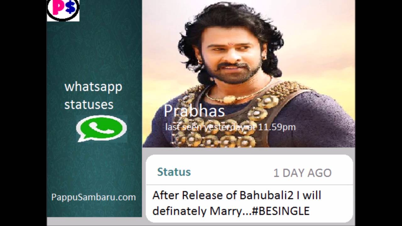 what if tollywood actors had present whatsapp statuses