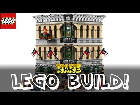 Rare Lego Grand Emporium 10211   Time-lapse Build / Unboxing & Review!