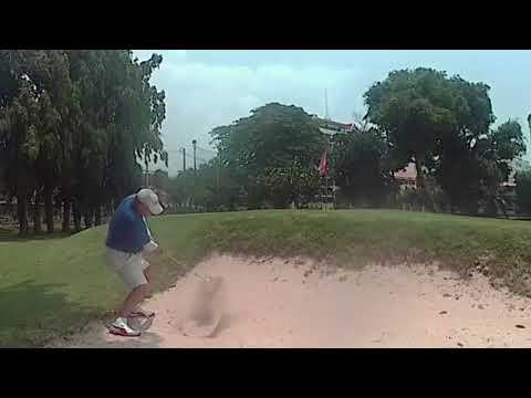 4th Hole ZZ Bunker Shot Asia Pattaya Golf Course Pattaya Thailand