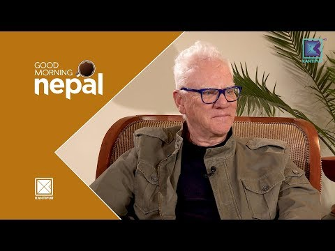 Fire Truck Expedition   Malcolm Mcdowell - Good Morning Nepal   28 March 2018