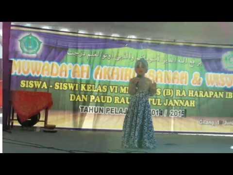 Pelepasan Siswa-siswi MI Baiturrohman Gilang 2014/2015, Juni 2015