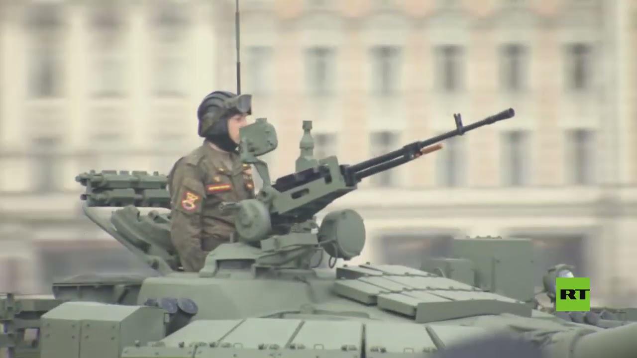 البروفة الرئيسية للعرض العسكري بمناسبة عيد النصر في موسكو  - نشر قبل 4 ساعة