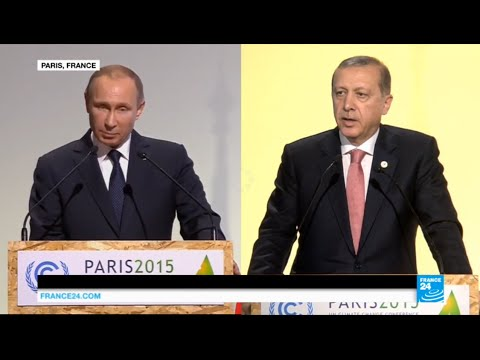 Putin says Turkey shot down the Russian military jet to protect its oil trade with the IS group