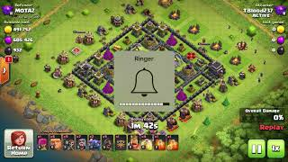 TH9 BEST FARMING AND TROPHY PUSH ATTACK STRATEGY -- CLASH OF CLANS -- W/PROOF