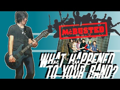McBusted - What Happened To Your Band Guitar Cover (w/ Tabs)